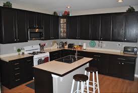 kitchen ideas dark cabinets kitchen cabinets white wall and base espresso island artic white