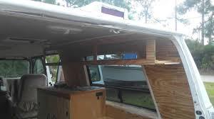 overhead kitchen cabinet campervan build 5 kitchen vanity u0026 custom overhead cabinet