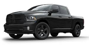 blacked out dodge truck 2018 ram 1500 gets more updates with the sport and big horn black