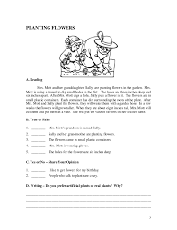 paragraph stories for reading comprehension esl worksheets book 2 stories for students