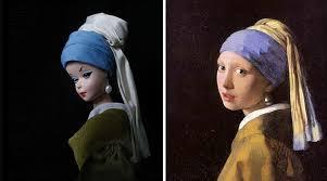 jocelyne grivaud recreates iconic images barbie dolls daily