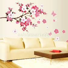 flower decor for home wall decor cool butterfly wall decor for nursery for home design