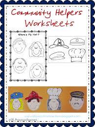 esl efl preschool teachers community helpers worksheets and more