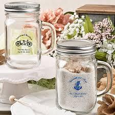 favor jars personalized glass wedding favor jars bottles