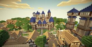 minecraft halloween city kingdom of verona medieval city castle and villages minecraft