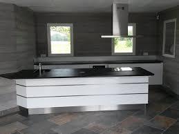 plan de travail cuisine blanc laqué cuisine noir plan de travail bois plan de travail en bois massif u