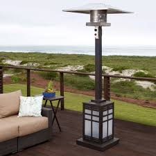 outdoor propane patio heaters paramount mission square illuminated base propane patio heater