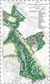 City Of Atlanta Map by Tsw Piedmont Park North Woods Master Plan
