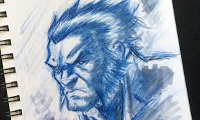 how to sketch wolverine step by step youtube