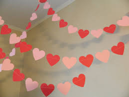valentines party decorations valentines day decorations 6ft and pink paper heart