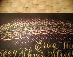 Decorated Envelopes Decorated Envelope Etsy