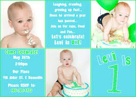 invitation cards for 1st birthday iidaemilia com