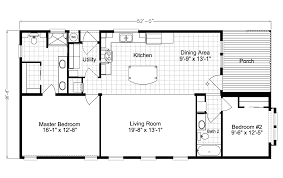 55 Harbour Square Floor Plans by Summer Breeze Iv Ls28522d Manufactured Home Floor Plan Or Modular