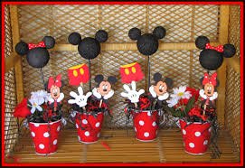 mickey mouse center pieces mickey mouse birthday party decoration ideas popular mickey