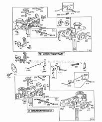briggs and stratton 130232 1536 01 parts list and diagram
