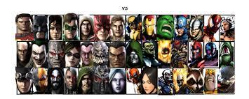 Fighting Meme - dc vs marvel vs fighting meme 1 by sonicbran23 on deviantart