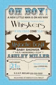 mustache baby shower invitations baby shower invitations mustache bash baby shower