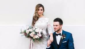 bryant wedding dresses kris bryant and delp get married in las vegas chicago