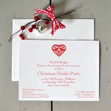 personalised christmas party invitations by honey tree publishing