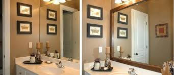 Frame Bathroom Mirror Mirror Frames Bathroom Mirrors