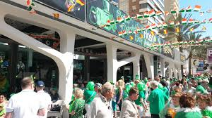st patrick u0027s day benidorm 2018 book now for all group bookings