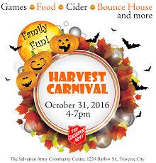 thanksgiving date 2016 traverse city harvest carnival october 31 2016