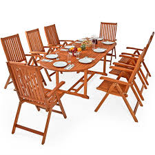 eucalyptus wood dining table dining table and chairs set moreno eucalyptus folding chairs
