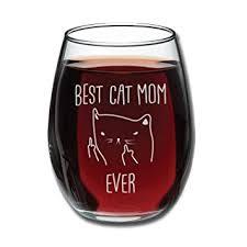 wine birthday gifts best cat wine glass 15oz unique