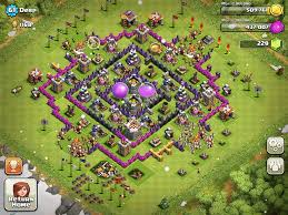 Home Design Game Levels Clash Of Clans Base Designs Town Hall Level 8 1337 Wiki