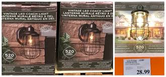 Costco Led Outdoor Lights Costco Deals January 2017