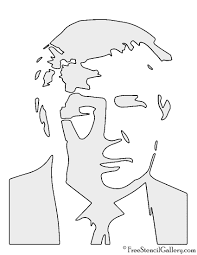 Printable Pumpkin Patterns by Donald Trump Stencil Free Stencil Gallery