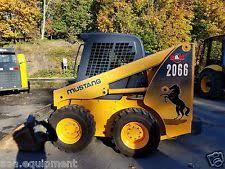 mustang 320 skid steer mustang skid steer ebay