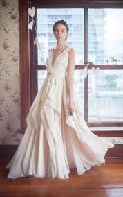 backless bridal dresses open and low back wedding gowns dorris