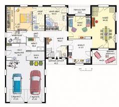 plain pied 4 chambres plan maison plain pied 120m2 4 chambres madame ki newsindo co