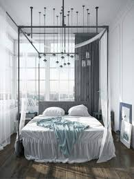 Modern Canopy Bed Frame Modern Canopy Bed For Adults And Children Hommeg