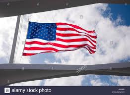 Image Of Hawaiian Flag Uss Arizona Memorial Stock Photos U0026 Uss Arizona Memorial Stock