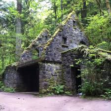 Forest Park Portland Map by Stone House On Wildwood Trail Portland Oregon Old Abandoned