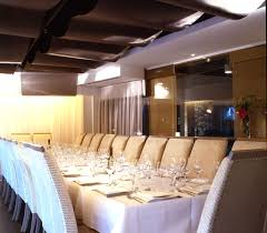 restaurant private dining room interior design of estiatorio milos