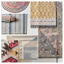 pink u0026 gray vintage wool tufted area rug threshold target