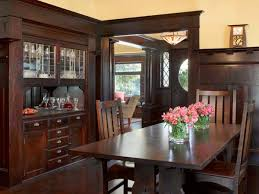 craftsman style cherry dining room furniture craftsman dining room