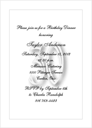 Formal Invitations Formal 30thbirthday Party Invitations