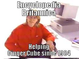 Meme Encyclopedia - encyclopedia brittannica quickmeme