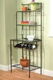 Bakers Rack Wine Wine Rack Hillsdale Brookside Stone Bakers Rack With Wine