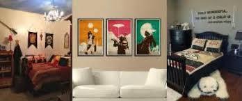 Nerd Art In Living Room Carameloffers - Art deco bedroom furniture for sale uk