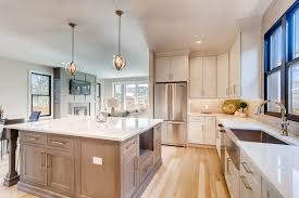kitchen cabinets with light countertops american cabinet flooring inc denver cabinets