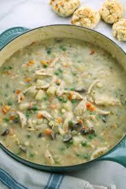 hearty pot pie soup recipe with turkey leftovers gavin