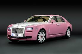 rolls royce phantom serenity pink rolls royce ghost donated for breast cancer campaign gtspirit