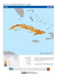 Map Cuba Map Gallery Sedac