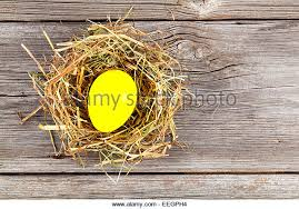 Easter Egg Nest Decorations by Easter Egg Birds Nest Decoration Old Wood Stock Photos U0026 Easter