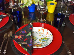 the latest interior design magazine zaila us dinner party table